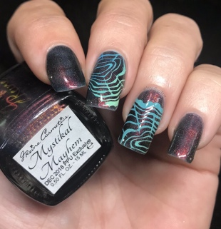 Some fun tree ring stamping